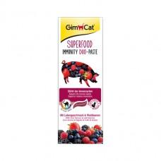 GimCat  Superfood Immunity Duo-Paste паста для иммунитета с печенью и лесными ягодами