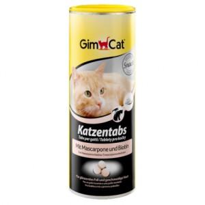 Gimpet (Джимпет) Kazentabs (710 шт Маскарпоне + Биотин) витамины в таблетках для кошки