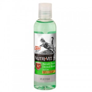Nutri-Vet (Нутри-Вет) «СВЕЖЕЕ ДЫХАНИЕ» ополаскиватель для пасти для котов