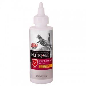 Nutri-Vet (Нутри-Вет) «ЧИСТЫЕ УШИ» капли для гигиены ушей котов