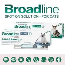 Broadline Merial Spot On Cat - капли против гельминтов, блох и клещей у кошек