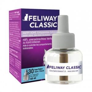 Ceva Feliway «Феливей» Classic Bottle Refill for Diffuser - cменный флакон с феромонами для снижения уровня агрессии у кошек