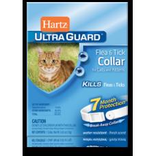Hartz ® UltraGuard ® Flea & Tick Collar for Cats and Kittens ★ Ошейник от блох и клещей для кошек и котят на 7 месяцев