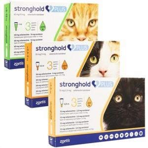 Эффективный препарат от паразитов для кошек «Zoetis Stronghold Plus» действующее вещество - селамектин: узнай больше