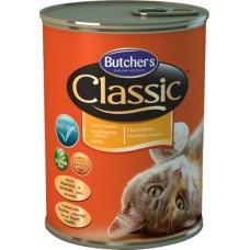 Butcher`s (Бутчерс) Cat Classic With Chicken - консервы для кошек / курица