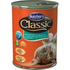 Butcher`s (Бутчерс) Cat Classic With Ocean Fish - консервы для кошек / морепродукты