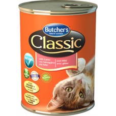 Butcher`s (Бутчерс) Cat Classic With Game - консервы для кошек / дичь