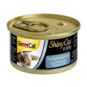 Gimpet (Джимпет) ShinnyCAT консерва (тунец, креветки)