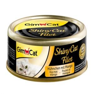 Gimcat ShinyCat Filet консервы для кошек  Курица с манго