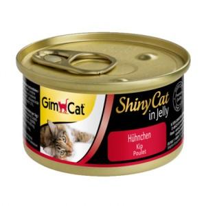 Gimpet ShinyCat консервы для кошек с курицей