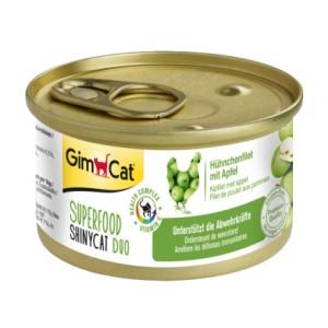 GimCat Superfood Shiny Cat Duo Chicken & Apples с курицей и яблоками для кошек