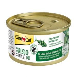 GimCat Superfood Shiny Cat Duo Tuna & Zuccini с тунцом и цуккини для кошек