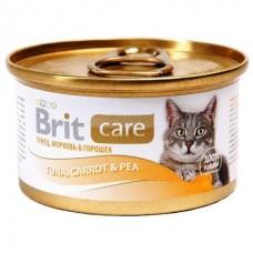 Brit Care Cat Tuna, Carrot & Pea / Тунец, морковь и горошек