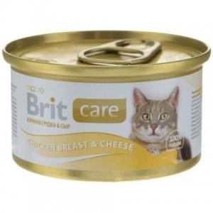 Brit Care Cat Chicken Breast & Cheese с курицей и сыром