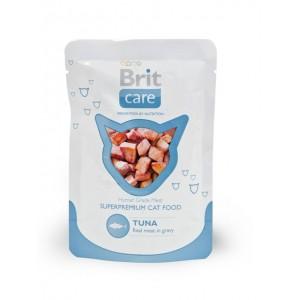 Brit Care Cat Tuna Pouch ● кусочки с тунцом в соусе / паучи