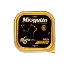 Morando Miogatto Adult Lamb and Turkey ▪ Міогатто влажный корм для кошек с ягненком и индейкой
