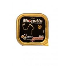 Morando Miogatto Adult Salmon and Shrimps ▪ Міогатто влажный корм для кошек с лососем и креветкой