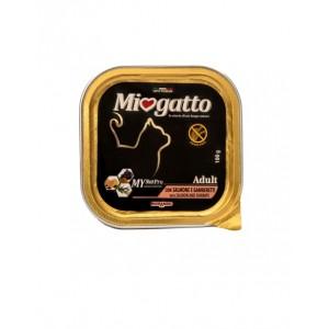 Morando Miogatto adult salmon and shrimps ▪ Міогатто влажный корм  с лососем и креветкой