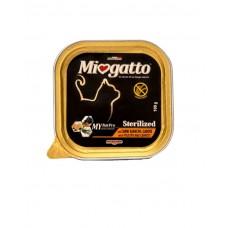 Morando Miogatto Sterilized Pultry and Carrots ▪ влажный корм для кастрированных и стерилизованных котов и кошек /птица и морковь/