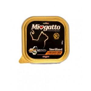 Morando Miogatto Sterilized Pultry and Carrots ▪ для кастрированных и стерилизованных котов и кошек /птица и морковь/