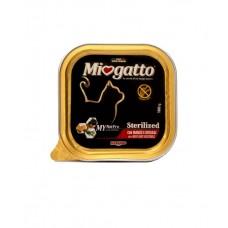Morando Miogatto Sterilized Beef and Vegetables ▪ влажный корм для кастрированных и стерилизованных котов и кошек /говядина и овощи/