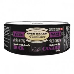 Влажное питание для кошек «Oven-Baked Tradition GF Duck Cat» консервы для ежедневного рациона и здоровой жизни Вашего любимца: узнать больше!