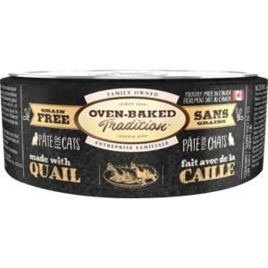 Влажное питание для кошек «Oven-Baked Tradition GF Quail Cat» консервы для ежедневного рациона и здоровой жизни Вашего любимца: узнать больше!