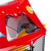 Ferplast Cage Circus Fun - клетка для хомяков с цветными наклейками (49,5 x 34 x h-42,5 cm)