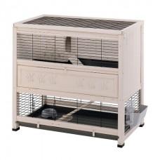 Ferplast Cage Cottage - деревянная клетка для кроликов (108 x 59 x h-102,5 cm)