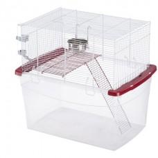 Ferplast Cage Gerbi White - двухэтажная клетка для песчанок и хомяков (57,5 x 39,5 x h-51 cm)