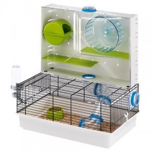 Ferplast Cage Olimpia - клетка для хомяков с игровыми туннелями (46 x 29,5 x h-54 cm)