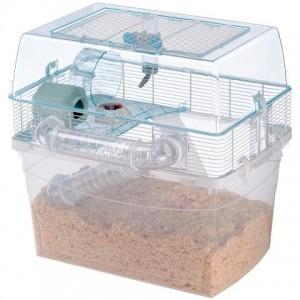 Ferplast Duna Space - двухэтажная клетка для хомяков (57,5 x 47,5 x h-54,5 cm)