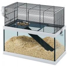 Ferplast Cage Gabry 50 - стеклянная клетка для песчанок (52 x 27 x h 44 cm)