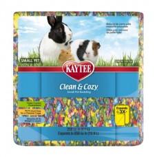 Kaytee Clean&Cozy BirthdayCake - подстилка для грызунов, целлюлоза, разноцветная
