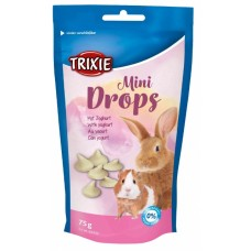 Trixie Mini Drops - лакомство для грызунов / йогурт