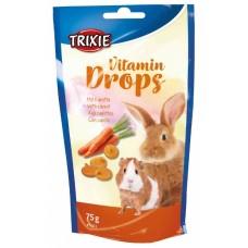 Trixie Vitamin Drops - лакомства для грызунов / морковь