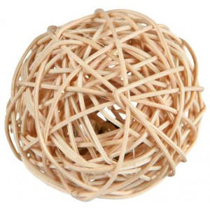 Trixie Rattan Ball - игрушка для грызунов шарик из лозы