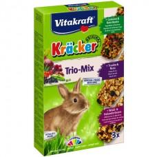 Vitakraft Cracker Vegetables, Nuts and Berries for Bunny - крекер для кроликов с овощами, орехами и лесными ягодами