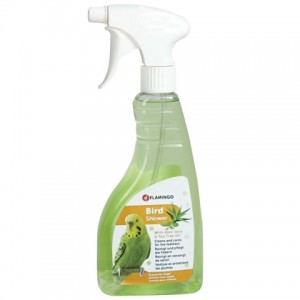 Шампунь - кондиционер Bird Shower для очистки перьев и поддержания оперения шелковистым и гладким от бренда «Фламинго» | PETPLUS