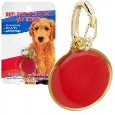 Coastal ID Tag - светоотражающий адресник (медальон) для собак