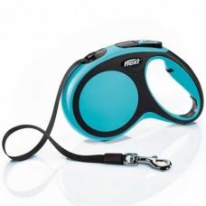 Flexi New Comfort L -  поводок-рулетка для собак, 8 м. до 50 кг. / лента