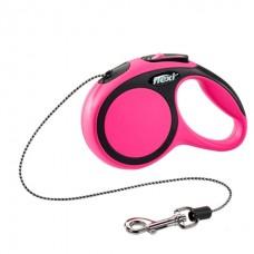 Flexi New Comfort M - поводок-рулетка для собак, 5 м. до 25 кг. / трос
