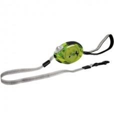 Karlie-Flamingo DogxToGo Belt Glassy (S) - поводок рулетка для собак до 12кг / лента