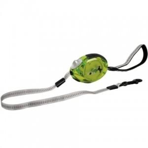 Flamingo DogxToGo Belt Glassy (S) - поводок рулетка для собак до 12кг / лента