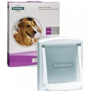 Дверцы «ПЕТСЕЙФ СТЕЙВЕЛ ОРИГИНАЛ» для крупных кошек и собак средних пород | Petplus