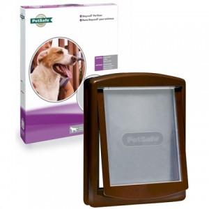 Дверцы «ПЕТСЕЙФ СТЕЙВЕЛ ОРИГИНАЛ» для крупных пород собак весом до 45 кг. | Petplus