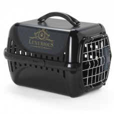 Moderna Trendy Runner Luxurious Pets – переноска для кошек c металлической дверцей и замком IATA  (49,4х32,2х30,4 см.)