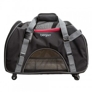 Bergan Wheeled Comfort Carrier - сумка-переноска на колесах для собак и кошек (48х33х25 см.)