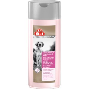 8 in 1 Moisturising and Conditioning Rinse - кондиционер-ополаскиватель увлажняющий для собак