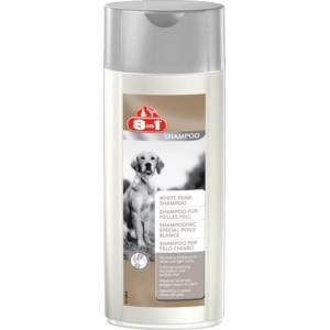 8 in 1 White Pearl Shampoo - шампунь Белый жемчуг для собак светлых окрасов